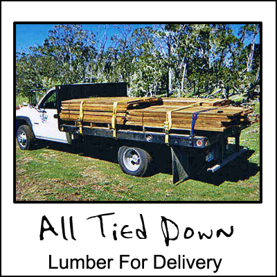 Lumber For Delivery
